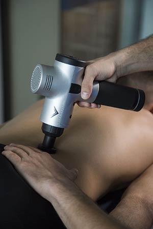 Перкуссионная терапия на аппарате Hyper Volt
