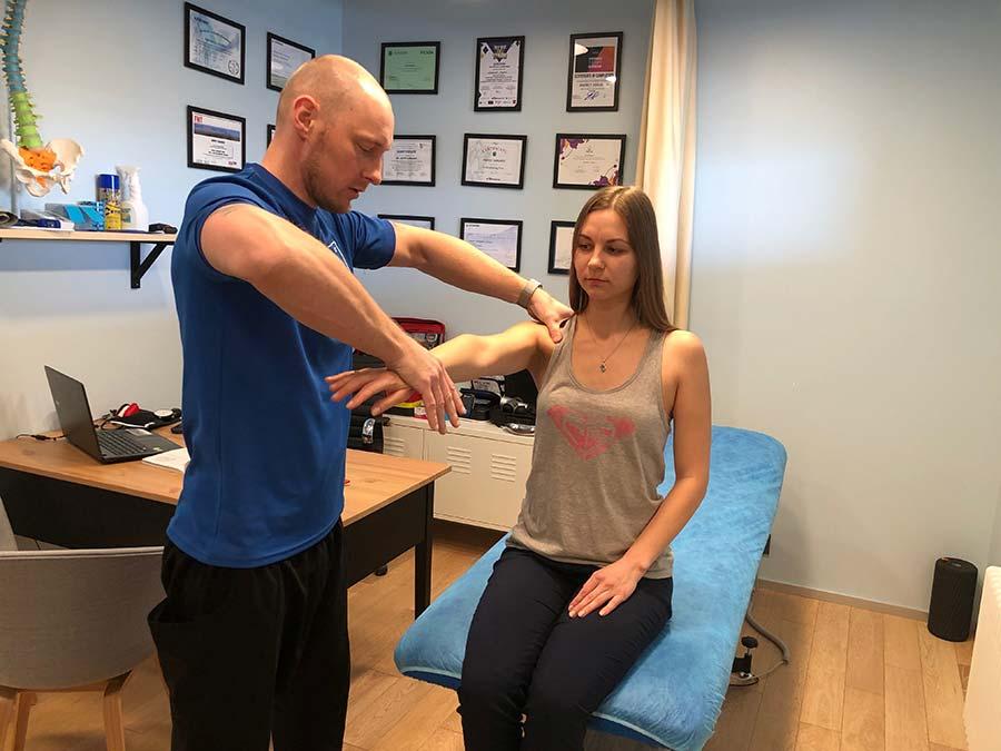 Мануально-мышечное тестирование